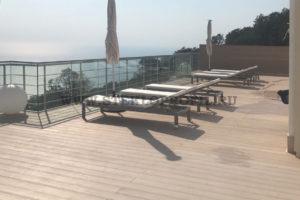Ограждения на крыше дома г.Сочи